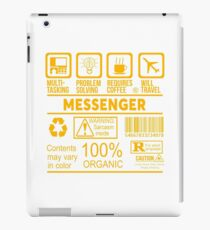 MESSENGER - NICE DESIGN 2017 iPad Case/Skin
