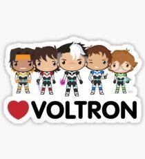 Love Voltron Sticker