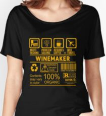 WINEMAKER - NICE DESIGN 2017 Women's Relaxed Fit T-Shirt