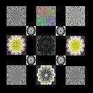 Digi Flower Quilt by KazM