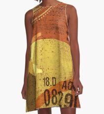 Abstract Industrial Art  A-Line Dress