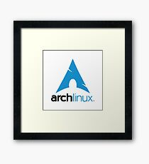 Arch Linux Merchandise Framed Print