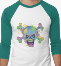 Freaky Colorful Skull T-Shirt