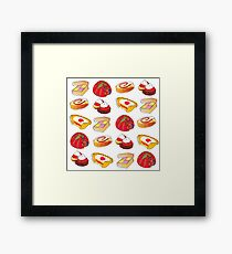 British Pudding! Framed Print