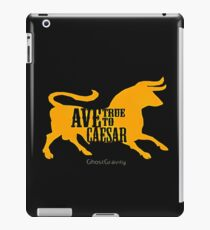 ave caesar iPad Case/Skin