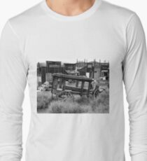 Old Mining Town Long Sleeve T-Shirt