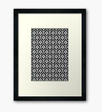 Wallpaper Black Framed Print