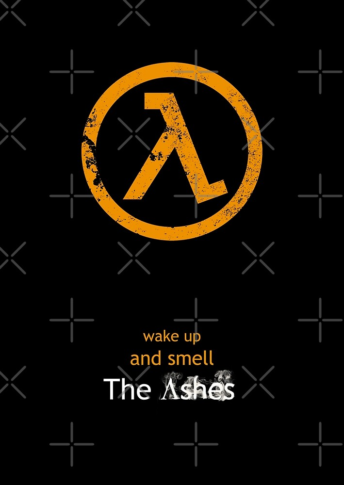 Half-Life Lambda Poster - Flat by TheFilmGeek