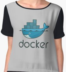 Docker Logo Merchandise Women's Chiffon Top