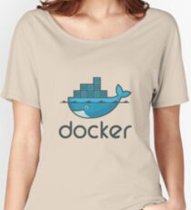 Docker Logo Merchandise Women's Relaxed Fit T-Shirt