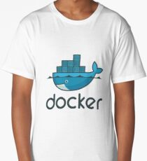 Docker Logo Merchandise Long T-Shirt