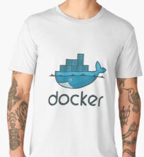 Docker Logo Merchandise Men's Premium T-Shirt
