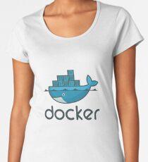 Docker Logo Merchandise Women's Premium T-Shirt