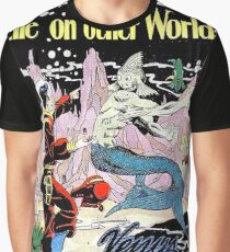 Life on other worlds, science fiction comics, cover, poster Graphic T-Shirt