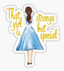 Beauty And The Beast my girl Sticker