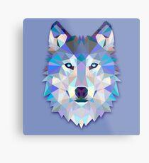 Wolf Animals Gift Metal Print
