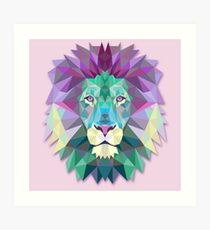 Lion Animals Gift Art Print