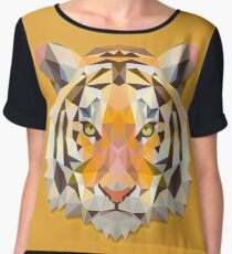 Tiger Animals Gift Chiffon Top