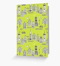 Boutique greeting cards redbubble old town greeting card m4hsunfo