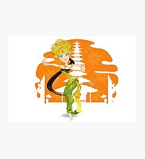 Balinese dance -Kecak Photographic Print