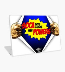 Soca Does Gimme Meh Powers Laptop Skin