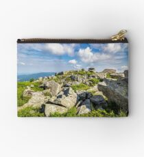 stones on the mountain top Studio Pouch