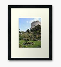 By Yon Tuft Of Trees Framed Print