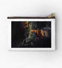 Ursus spelaeus cave in romanian mountains transilvania Studio Pouch