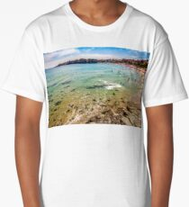 people at the sea beach of Sozopol Long T-Shirt