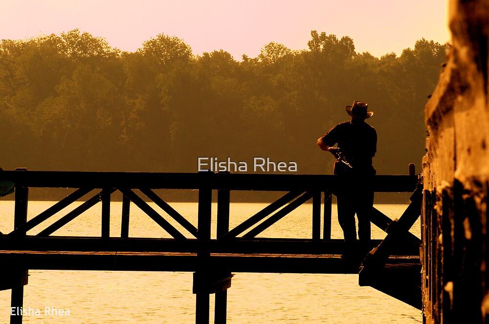 Summer Morning Fishing by Elisha Rhea