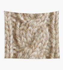 Stone Knit Cables Wall Tapestry