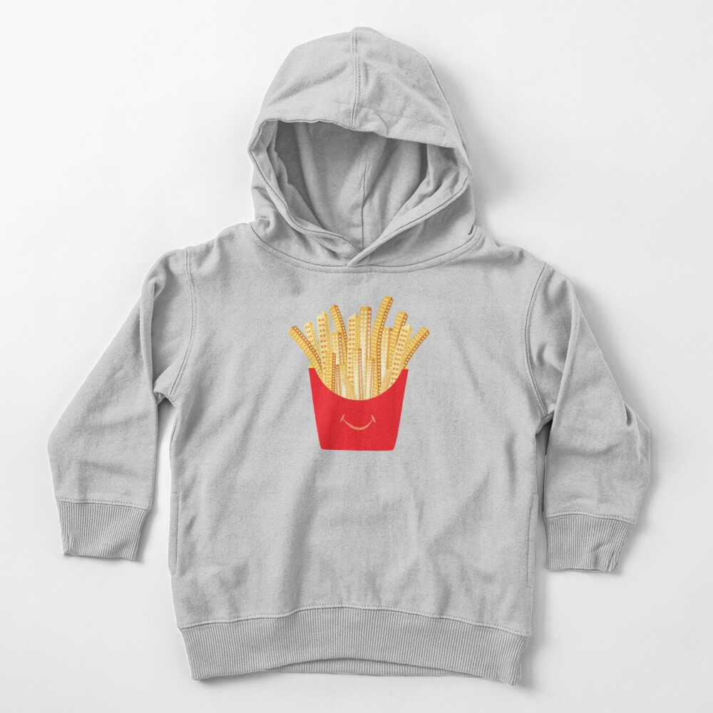 French Fries City Toddler Pullover Hoodie