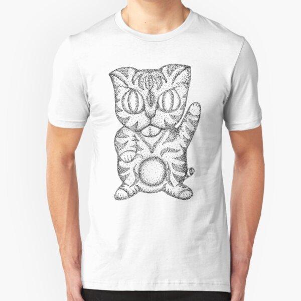 Kitty Cat Slim Fit T-Shirt