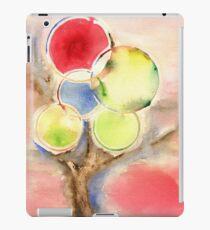 Abstract Tree Watercolors iPad Case/Skin
