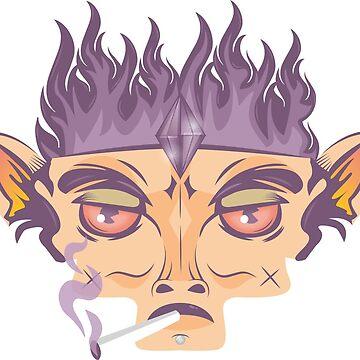 Smokey Monkey by caitdesign