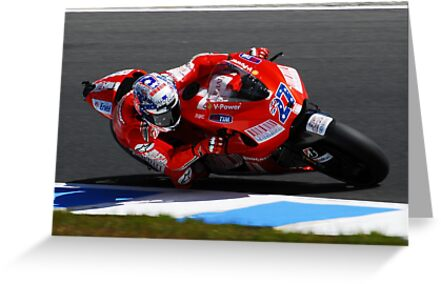Casey Stoner by Michael Rowley