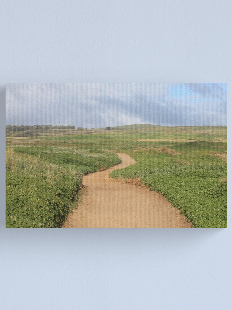 Alternate view of Nature's Path Canvas Print