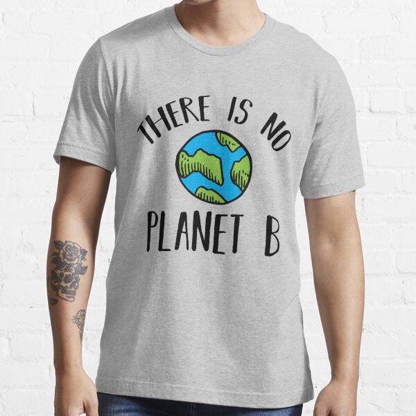 No hay planeta B (negro) Camiseta esencial