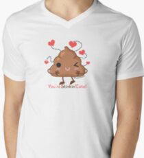 You're Stinkin' Cute! - Poop Men's V-Neck T-Shirt
