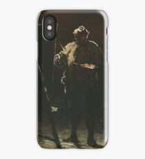 The Painter at his Easel 1870 Honoré Daumier iPhone Case/Skin