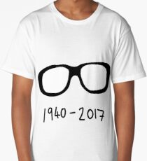 George A Romero Tribute: 1940 - 2017 Long T-Shirt