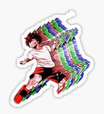 Kinetic RGB Punch (DEKU)  Sticker