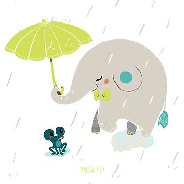 «Un éléphant amoureux» par BabyKarot
