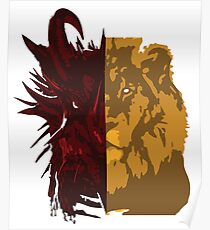 The Dragon and the Lion Poster