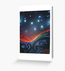 Matariki Greeting Card