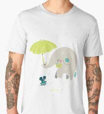 Un éléphant amoureux T-shirt premium homme
