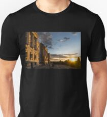 Palacio Real Framing the Sunset in Madrid Spain T-Shirt