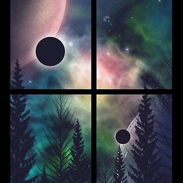 Window To Infinity  by aartliner