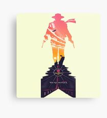 The Gunslinger Born Metal Print