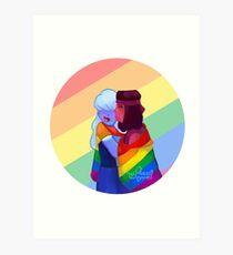 Rupphire pride Art Print